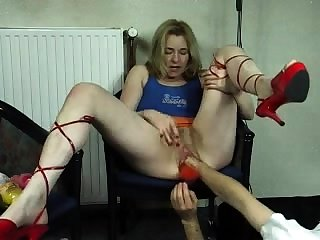German layman milf spanked and fisted by zorro