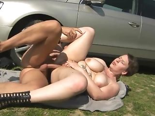 Obese inked vulgarity getting boned rock-hard not at home porn tooter