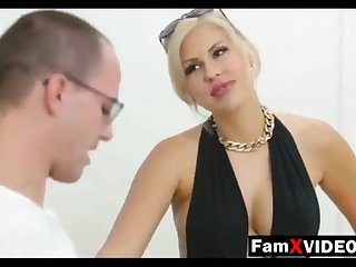 Steamy mommy pummels son-in-law and trains daughter-in-law - Total Free Mother Hump Movies to hand FamXvideos.com