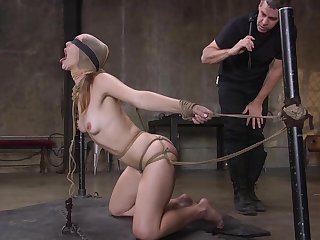 Anal domination in scenes of BDSM for Ella Comet