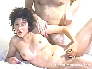 Perishable pussy amateur drills herself with a dildo before having sex