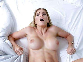 Mommy gets fucked around make an issue of pussy missionary style