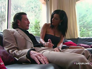 Brunette darling Priscilla Salerno enjoys having hardcore making love