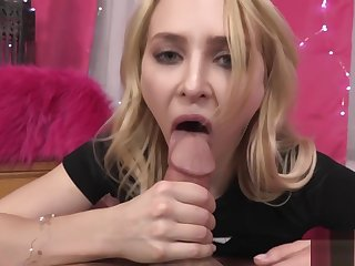 STEP DAUGHTER ALIX LYNX CONVINCES DAD Down STICK HIS Blarney IN HER TIGHT HOLE