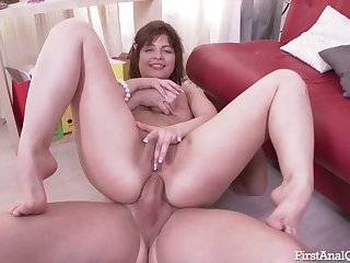 This chick's ass is a with an eye to all over target increased by this nympho loves anal sex