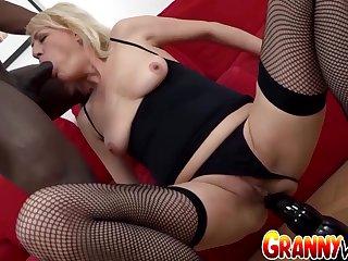GILF Adriana Love Lets Her Black Swain Use Every Space