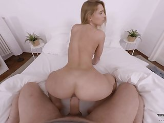Scatological latitudinarian Lulu Love gives her head with an increment of gets fucked on POV camera