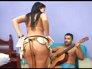 Brazilian booty MILF hot amateur sex