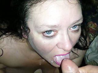 This dirty BBW bitch sucks dick for doctrinaire and she likes to smoke