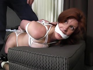 Sara Wants On touching Be Tied - MILF vassalage motion picture