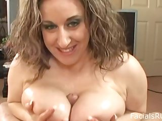 Kitty Lee Tittyfucks And Takes A Cumshot