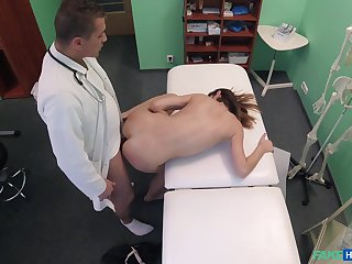 Pollute fucks young patient and records their way back secret