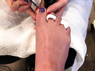 Clamminess foot talisman xxx
