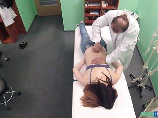 Young patient feels perfect while savage fucked and jizzed