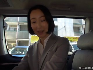 Delicious indulge Eri Ito moans while having sexual connection approximately a stranger