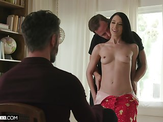 Video be proper of cuckold hubby recognizing his trophy wife Alex Coal having making love