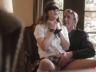 Abyss sex for filial schoolgirl wide older man